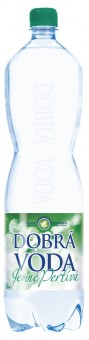 Dobrá voda jemně perlivá 1,5l - PET