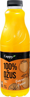 Cappy pomeranč 100% 1l - PET