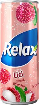 Relax Limonáda liči 0,33l plech