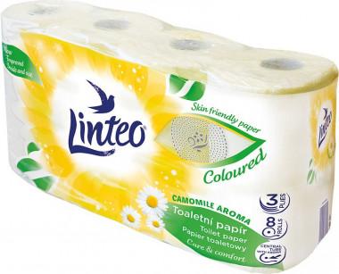 Toaletní papír Linteo Heřmánek 3vr. 8x20m