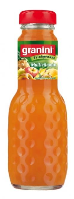 Granini Multivitamin 0,2l sklo - vratná lahev