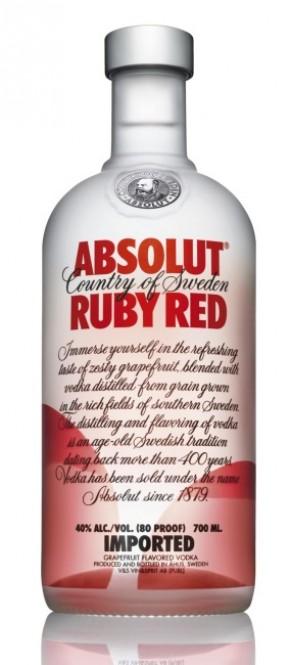 Absolut vodka Ruby Red 0,7l