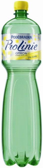 Poděbradka Pro Linie citron 1,5l - PET