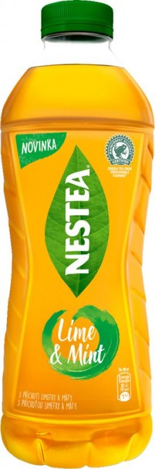Nestea Green Tea Lime&Mint 1,25l - PET