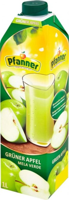 Pfanner Zelené jablo 40% 1l