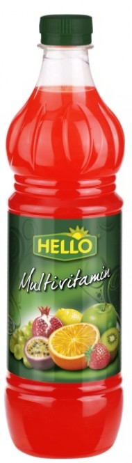 Ovocný koncentrát Hello multivitamín 0,7l - PET
