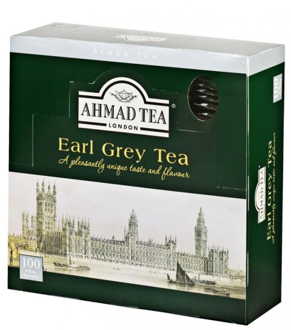 Ahmad Tea Earl Grey 100x2g
