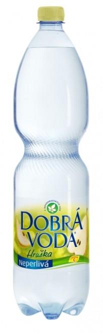 Dobrá voda neperlivá Hruška 1,5l - PET