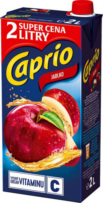 Caprio Plus jablko 2l