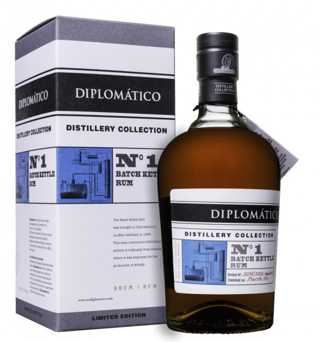 Diplomático Distillery Collection No.1 Batch Kettle Rum 0,7l