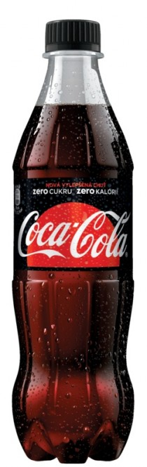 Coca cola ZERO 0,5l - PET