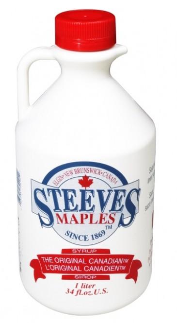 Javorový sirup Steeves 1l