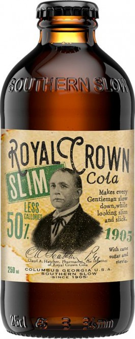 Royal Crown Cola Slim 0,25l sklo - vratná lahev