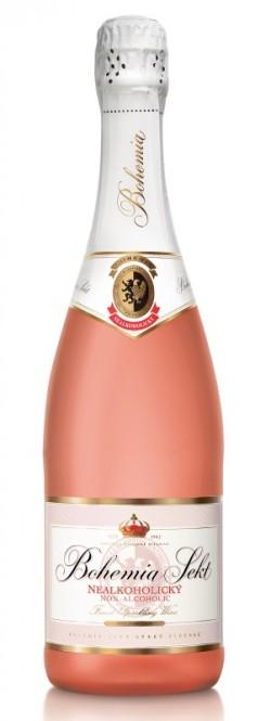 Bohemia Sekt nealkoholický rosé 0,75l