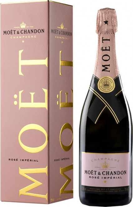 Moet Chandon Rosé Impérial 0,75l - box