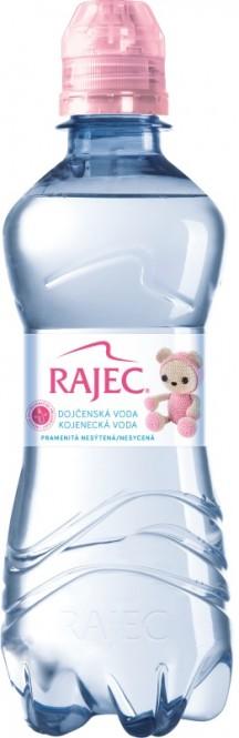 Rajec Kojenecká voda 0,33l - PET (6 ks)