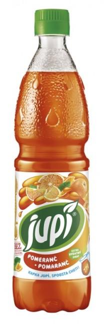 Ovocný sirup JUPÍ pomeranč 0,7l - PET