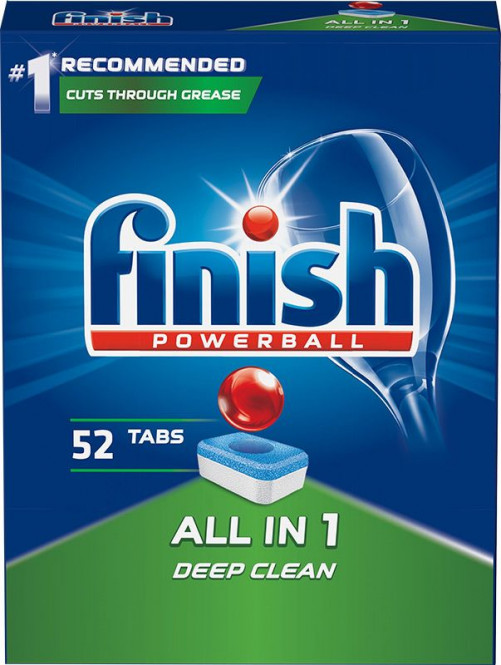 Finish Powerball All-in-1 - 52 ks