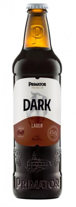Primátor Dark 0,5l - vratná lahev