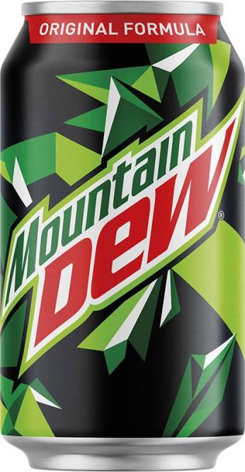 Mountain Dew 0,33l - plech