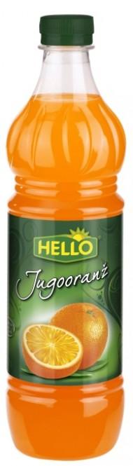 Ovocný koncentrát Hello jugooranž 0,7l - PET