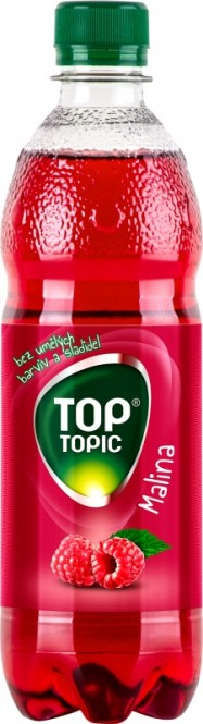 Top Topic malina 0,5l - PET