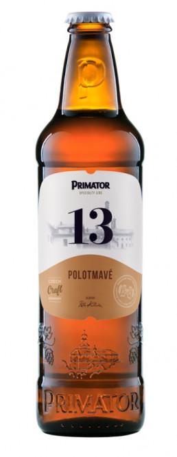 Primátor 13 Polotmavý 0,5l - vratná lahev