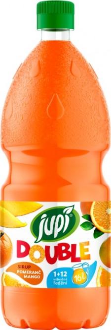 Ovocný sirup JUPÍ Double pomeranč mango 1,25l - PET
