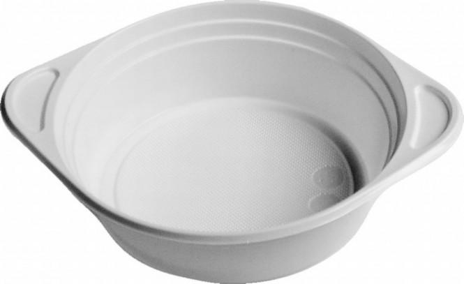 Miska plastová polévková 0,5l - 100 ks