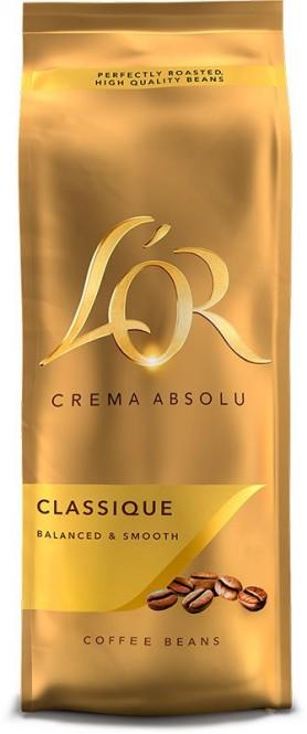Douwe Egberts L´OR Crema Absolu Classique 500g zrno