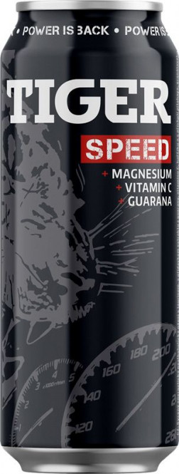 Tiger speed energy 0,5l plech