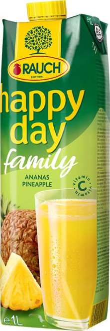 Rauch Happy day Family ananas 55% 1l