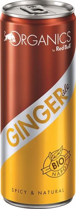 Red Bull Organics Ginger ale 0,25l plech