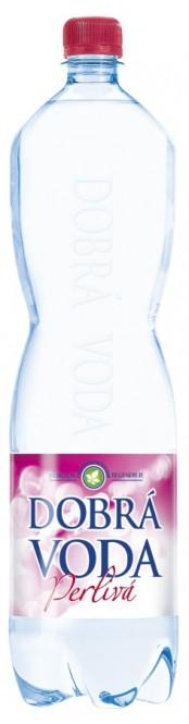 Dobrá voda perlivá 1,5l - PET