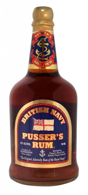 Pusser's Original Admiralty Rum 0,7l