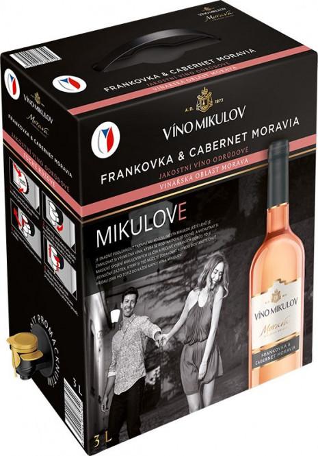 Frankovka & Cabernet Moravia 3l box - Mikulov