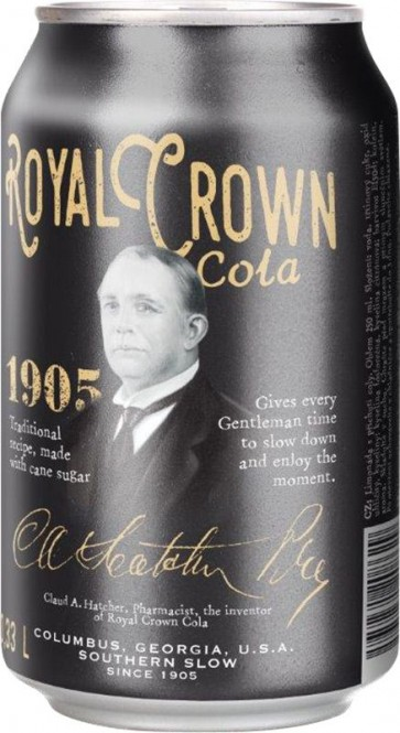 Royal Crown Cola Classic 0,33l plech