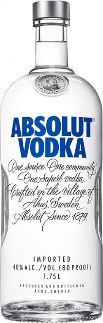 Absolut vodka 1,75l
