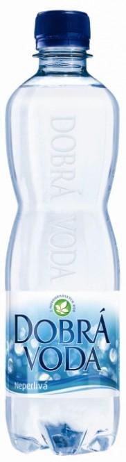 Dobrá voda neperlivá 0,5l - PET