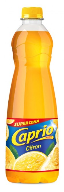 Ovocný koncentrát Caprio hustý Citron 0,7l - PET