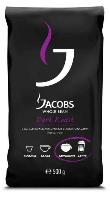 Jacobs Dark Roast 500g zrnková