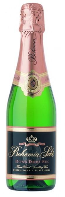Bohemia Sekt rosé demi sec 0,375l