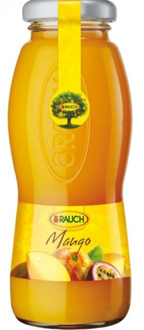 Rauch 0,2l mango - sklo (24 ks)