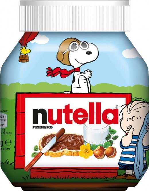 Nutella 750g Snoopy