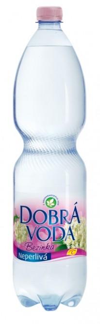 Dobrá voda neperlivá Bezinka 1,5l - PET