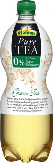 Pfanner Pure tea zelený čaj 1l - PET