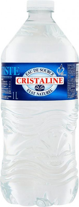 Cristaline neperlivá 1l - PET