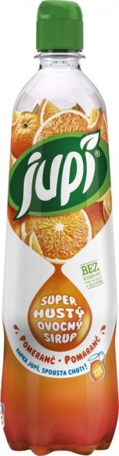 Ovocný sirup JUPÍ superhustý pomeranč 0,7l - PET