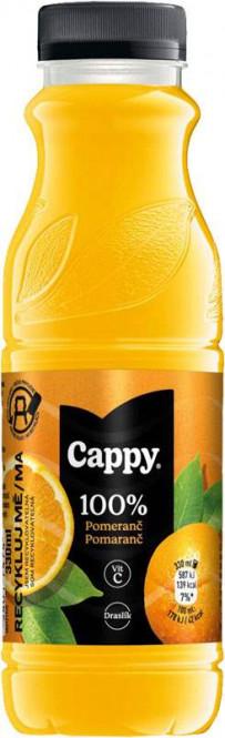 Cappy pomeranč 100% 0,33l - PET