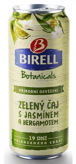 Birell Botanicals Zelený čaj s Jasmínem a Bergamotem 0,4l - plech